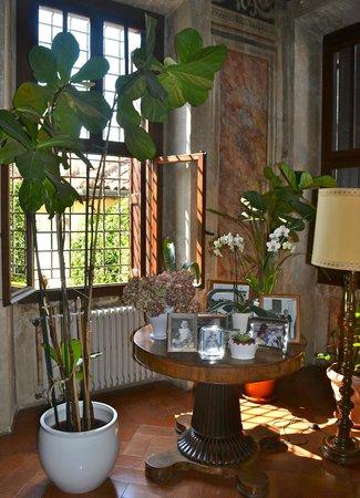 Relais Villa Sagramoso Sacchetti: Living