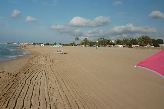 Creixell, إسبانيا: spiaggia