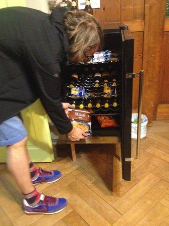 Gotthardbackpacker: Der Kühlschrank - nicht nur Notvesorgung