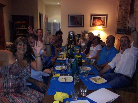 Chateau de l'Horte : Great night meeting wonderful people. Superb food!