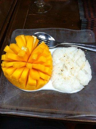 Lao Siam: Mangue - Riz gluant coco ! Une tuerie