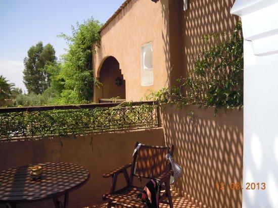 Dar Ilham : terrasse suite