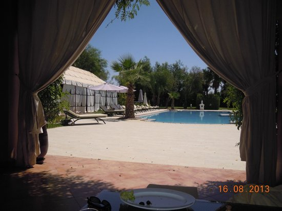 Dar Ilham : piscine