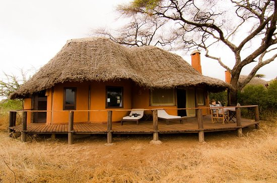 Tawi Lodge: Our room, no 4