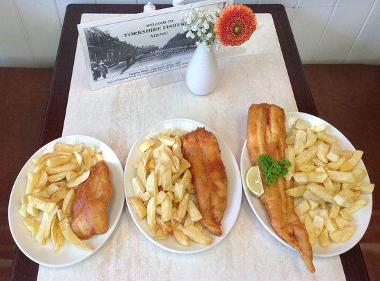 Yorkshire Fisheries: Which fish is your dish? A lite bite, standard or king size?