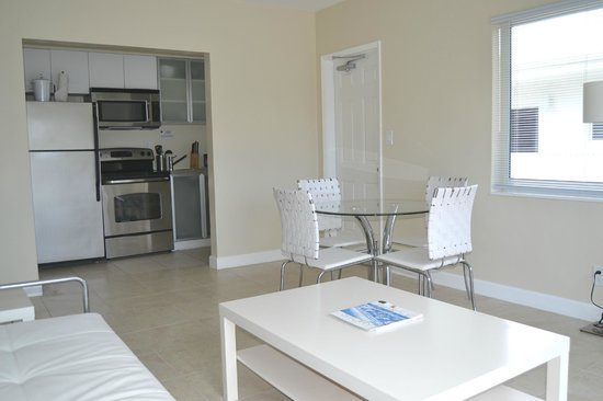 Tranquilo: One bedroom units have full kitchens