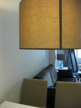 Rambla 102 Apartments: zona giorno