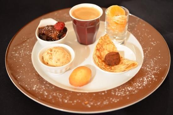Le Restaurant du Soleil: café gourmand