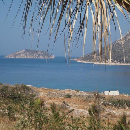 Agios Pavlos Studios: Vue sur chambre d'Aphrodite