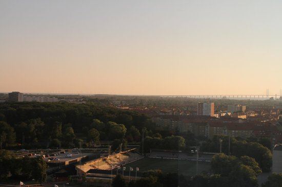 Scandic Malmo City : Top floor view