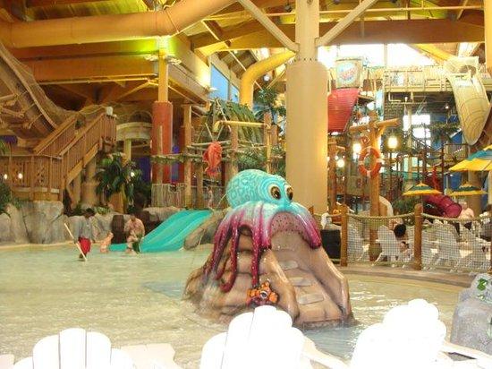Castaway Bay Waterpark: little kids pool