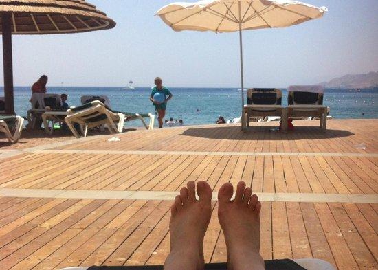 Dan Eilat: The Beach
