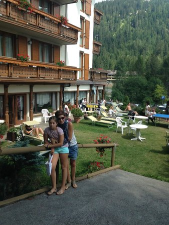 Hotel Splendid: l'esterno dell'hotel