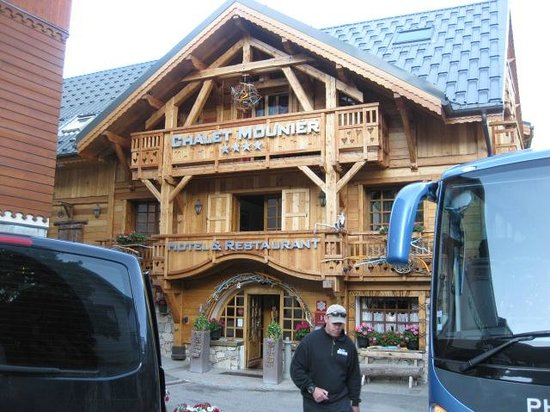 Hotel Chalet Mounier : Entrance