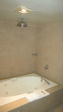 Doubletree Hotel San Diego Downtown: King suite, shower tub