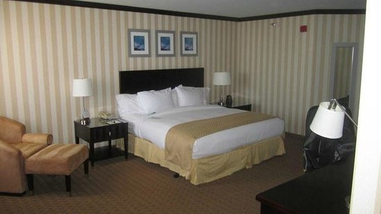 Doubletree Hotel San Diego Downtown: King suite, standard bed