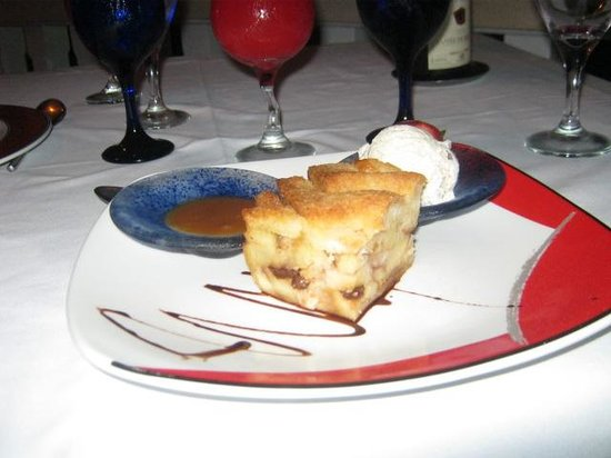 The 'Infamous' Bread & Butter Pudding - Picture of Waterside ...