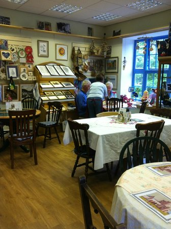 Craftea Weaver Tearoom: Every thing you see is for sale