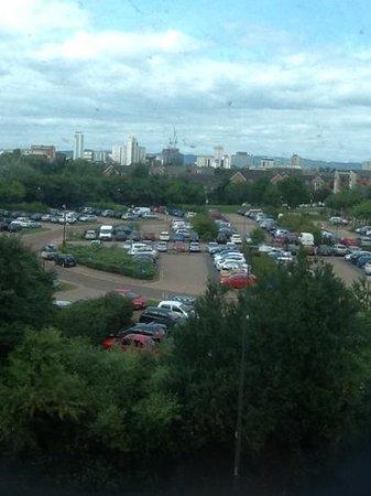 Travelodge Cardiff Atlantic Wharf: view from window (316)