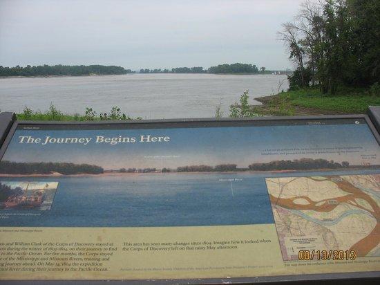 Lewis & Clark State Historic Site &  Interpretive Center: Lewis & Clark Expedition Launch Site