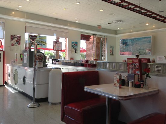 Ruby's Diner: Tables