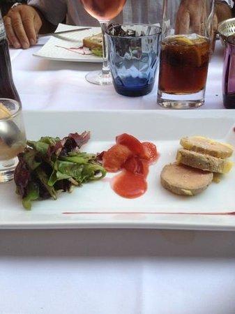 Le Caro de Lyon: foie gras