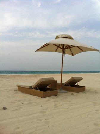 Park Hyatt Abu Dhabi Hotel & Villas : beach