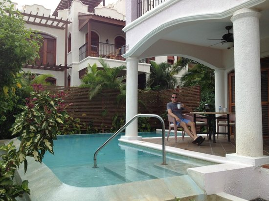 Cap Maison: Private pool and porch