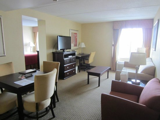 Holiday Inn Hotel & Suites Rochester - Marketplace: Living room area