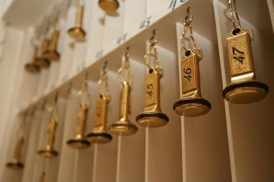 Alp de Veenen Boutique Hotel: Keys