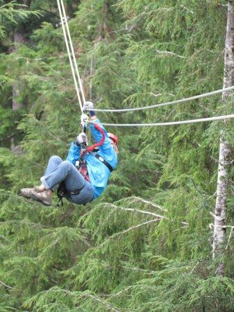 Alaska Canopy Adventures: Ziplining