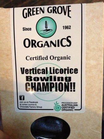 Junee Licorice & Chocolate Factory: Winner!