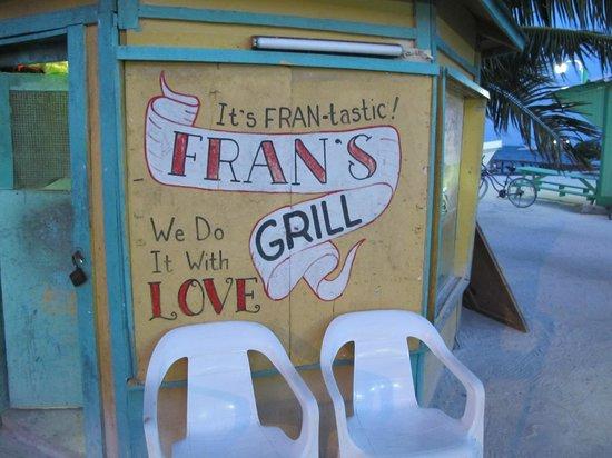 Fran's Grill: Fran's cook shack