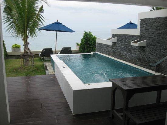 Samui Resotel Beach Resort: piscina privada