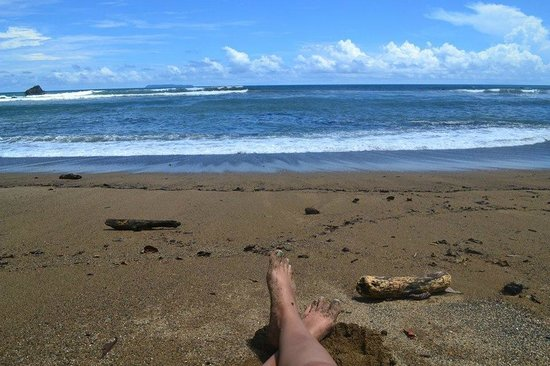 Punta Marenco Lodge: beach
