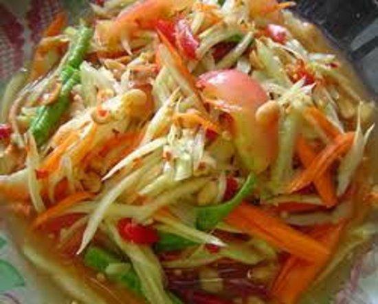 The Knatchbull Arms: Papaya Thai Salad