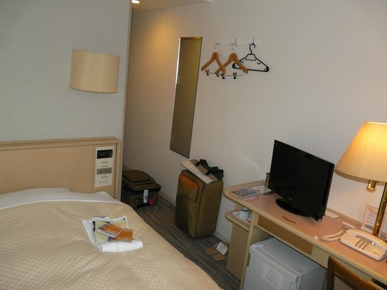 Ginza Capital Hotel Annex: there room for a refridgerator