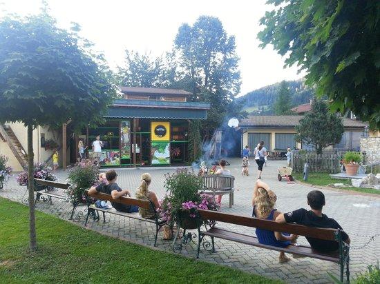 Hotel Kesselgrub: Gartenanlage