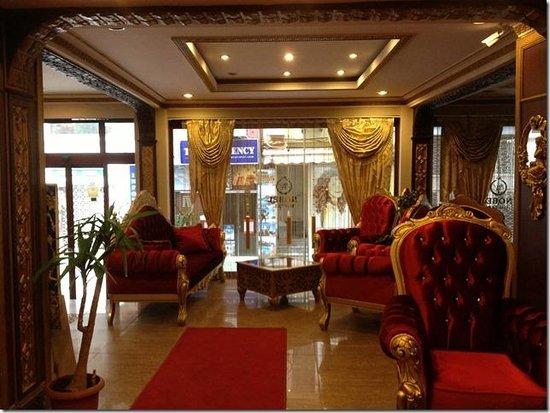 Best Nobel Hotel: Le hall de l'hôtel