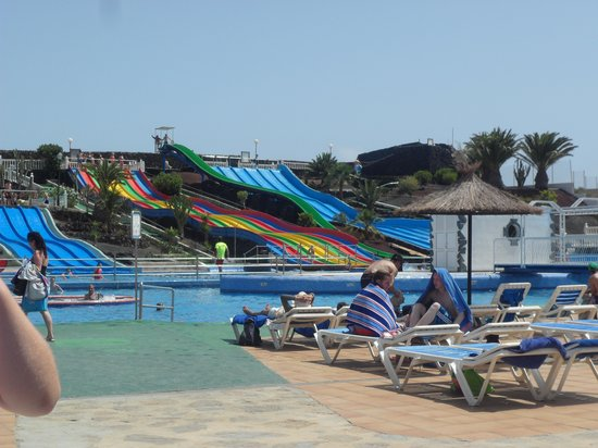 Aquapark Costa Teguise: Slides