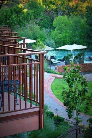 Kimpton Amara Resort & Spa : View from our Balcony