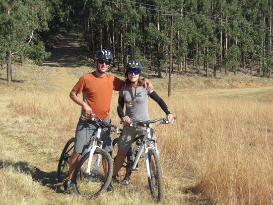 Mountain Splendour Eco-Resort: mountain biking nearby