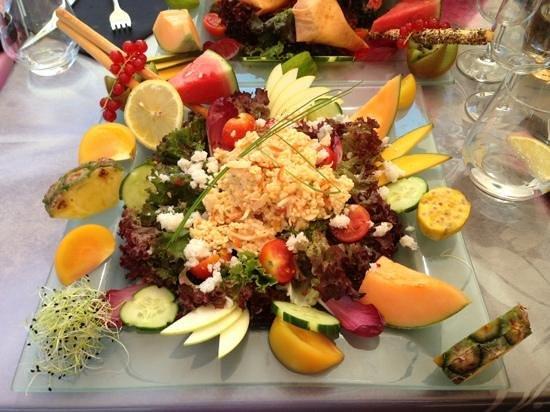 L'Igloo Gourmand : salade marine