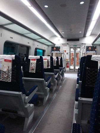 AREX (Airport Express Railroad): 13.02.09【A'REX】車内①