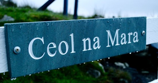 Ceol na Mara Guest House: The Guest House Sign