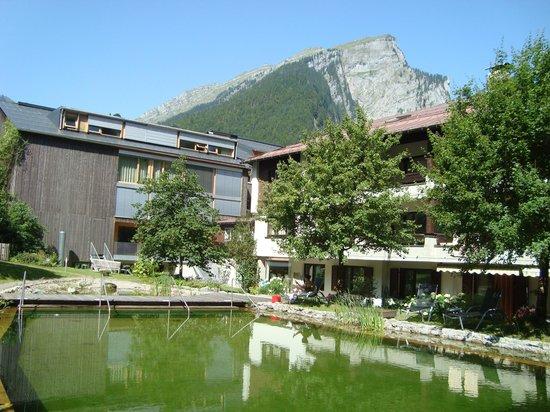 Hotel Krone: piscine naturel