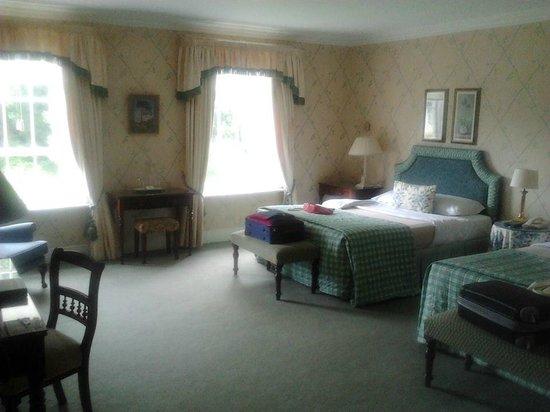 Longueville House Hotel: Twin room