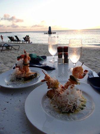 Azull: Shrimp Appetizer