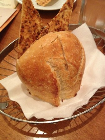 BRIO Tuscan Grille : Complimentary Bread