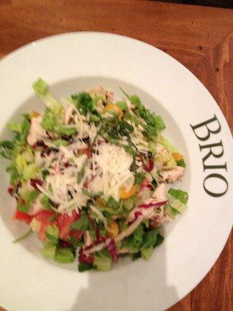 BRIO Tuscan Grille : Salad